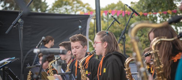 JMI Youth Big Band - Klezmer in the Park